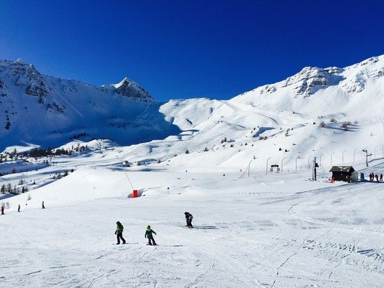 Samedi 31 janvier... Excellente neige, beau soleil...