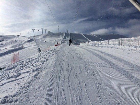Neige top soleil top ski top !