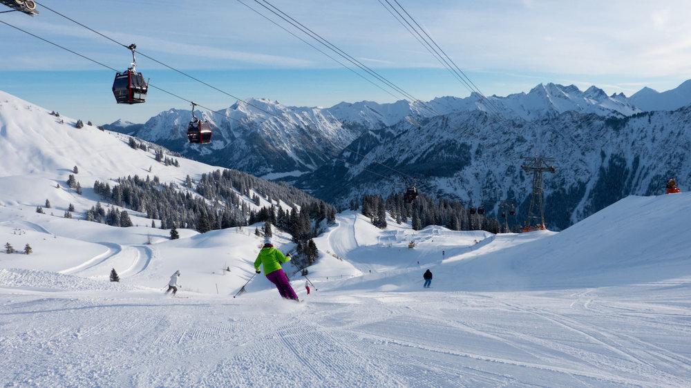 Die Fellhornbahn bringt euch sicher zum Gipfel - © Bergbahnen Oberstdorf/Kleinwalsertal