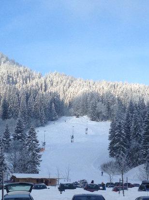 Toller Morgen! Toller Schnee heute!