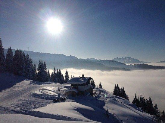 Super soleil bonne neige -3 degrés