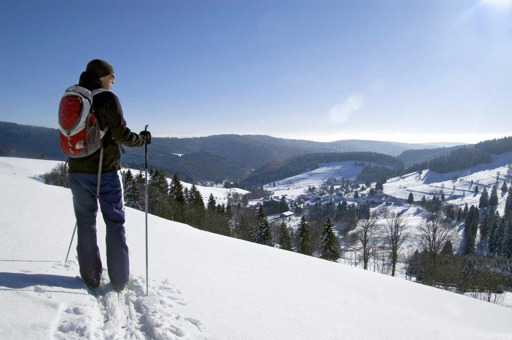 Auch Langlauf ist im Skigebiet Todtmoos möglich - © Tourist-Information Todtmoos