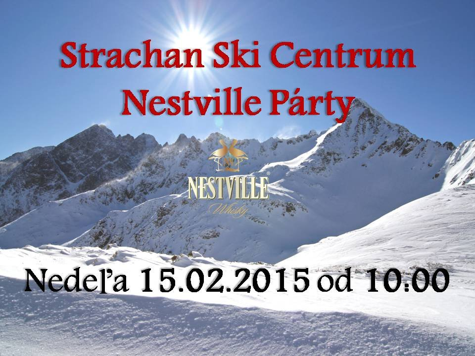 Strachan Nestville Párty - © Party on the snow. Strachan Ski centrum ... 386fae7ebdc