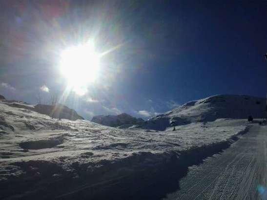 de la bonne neige sur Galinat . . .