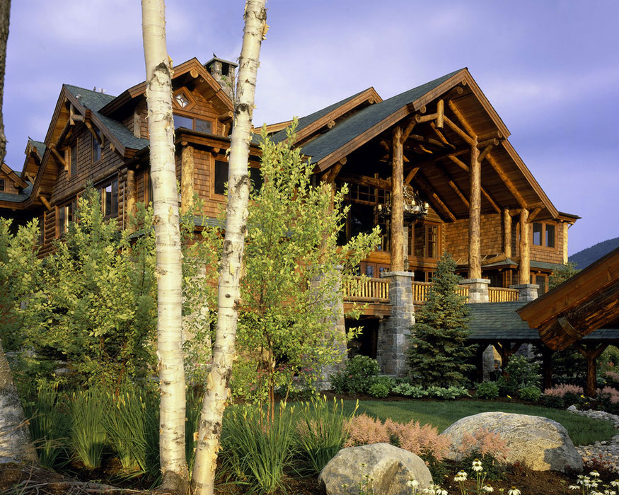 Whiteface Lodge exterior at Lake Placid, NY