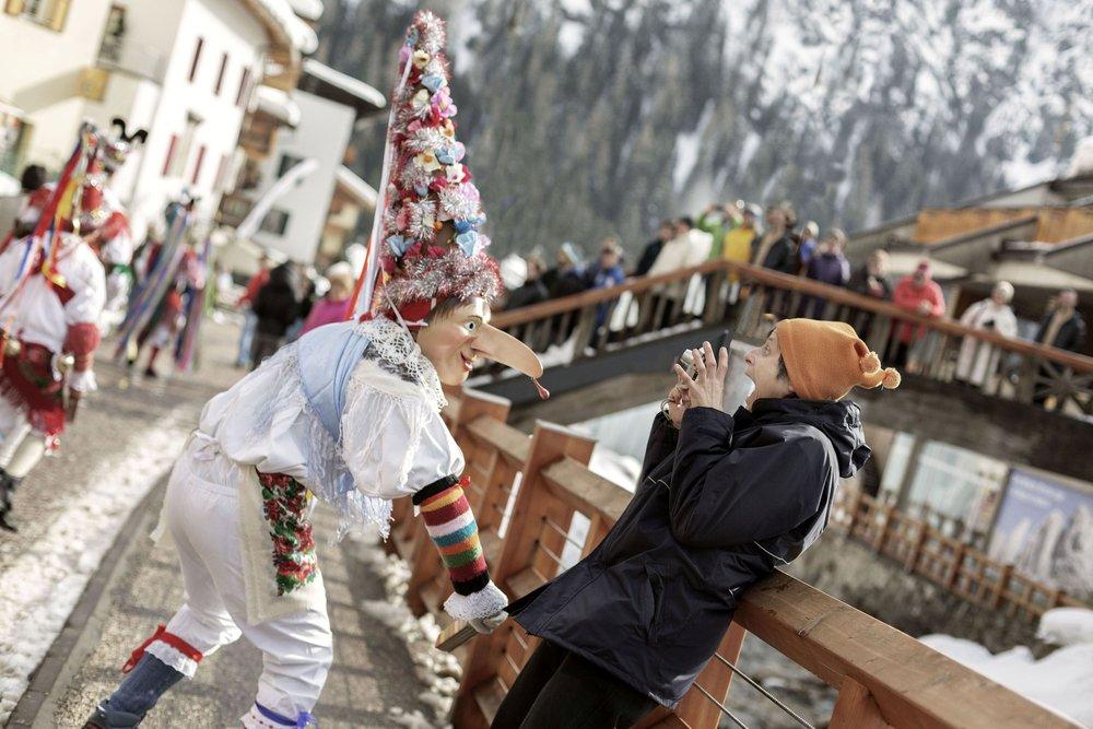 Carnevale in Trentino - Carnevale Ladino - © Daniele Lira