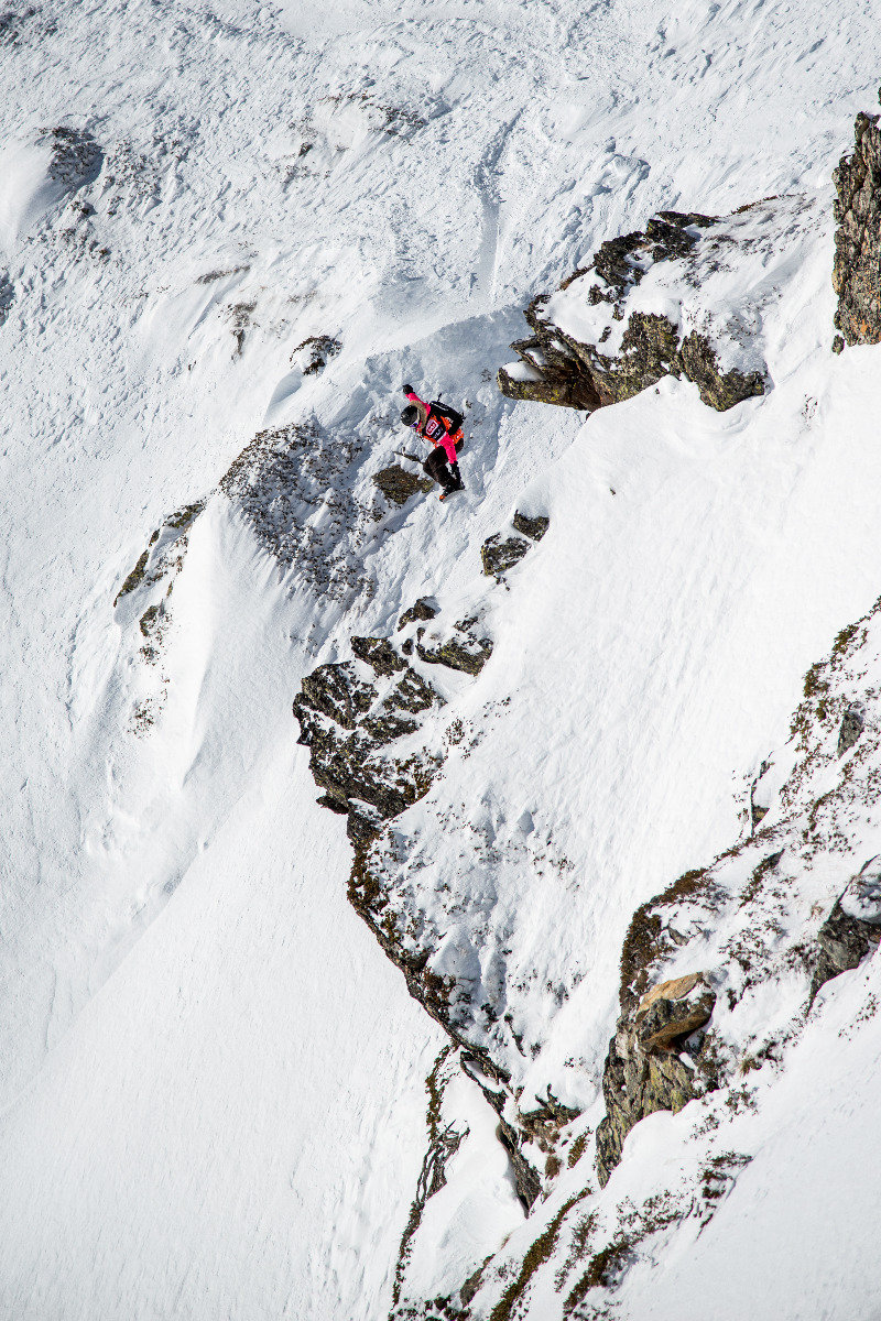 Spektakuläre Action beim Event in Andorra - © Freeride World Tour | David Carlier