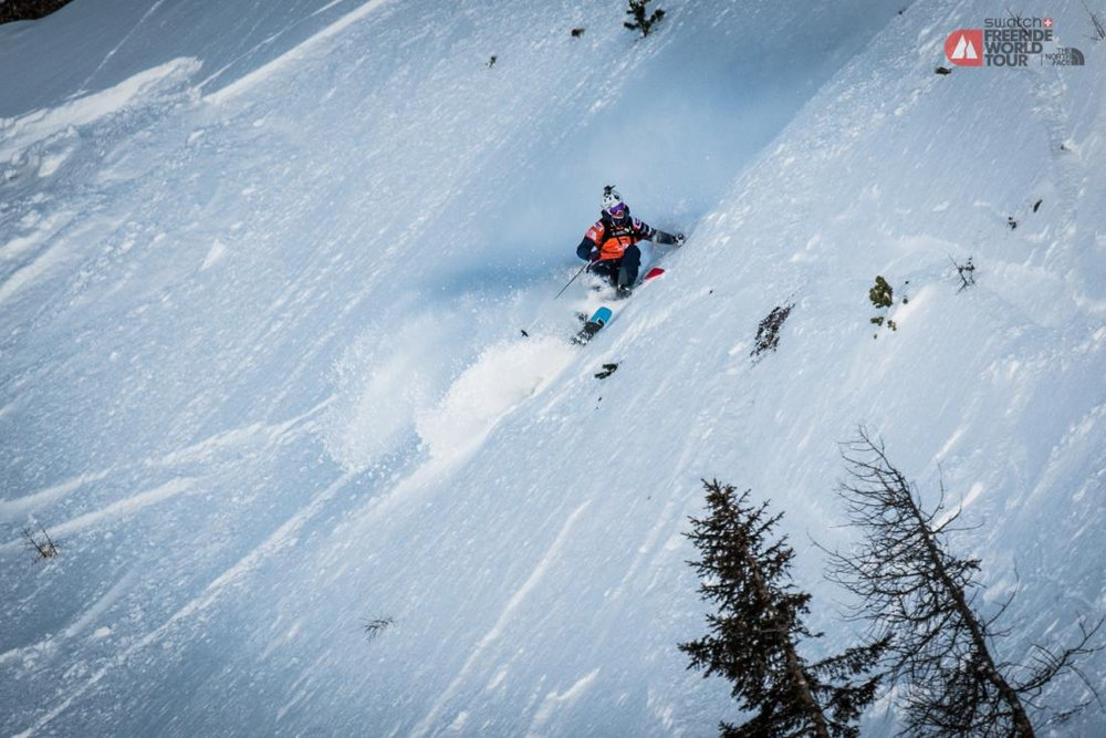 Freeride World Tour Fieberbrunn 2015 - © ©freerideworldtour.com / DAVID CARLIER