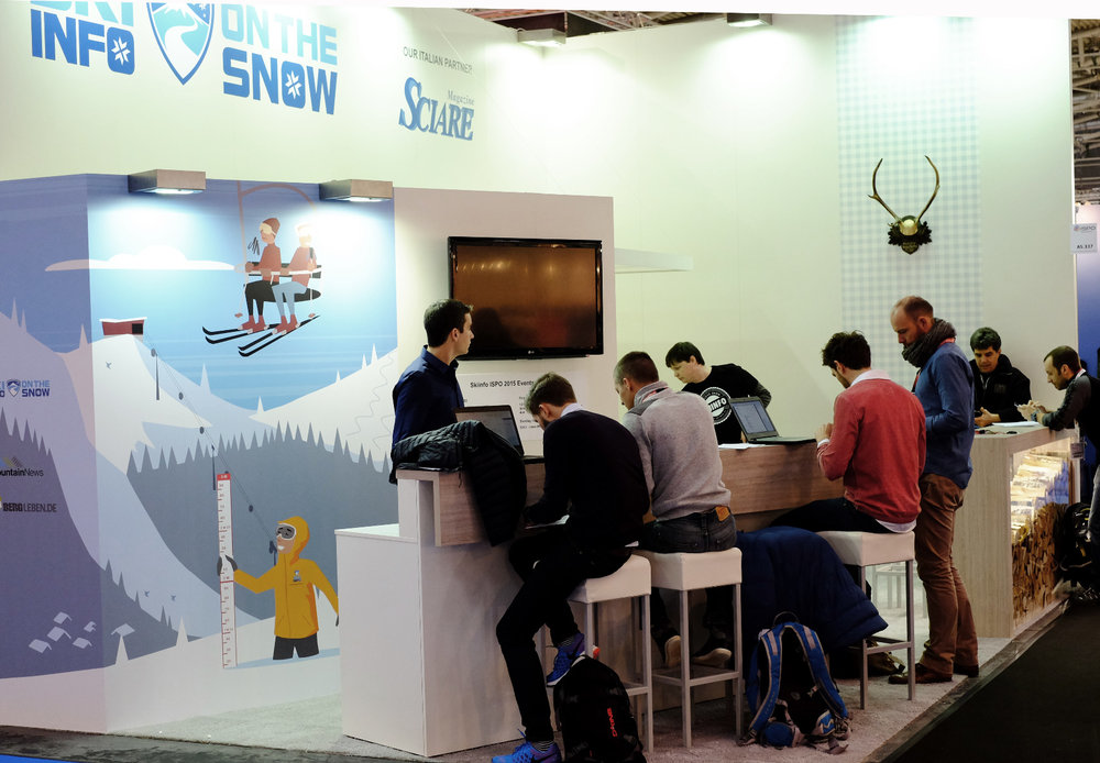 Stand Skiinfo all'Ispo 2015 - © Skiinfo