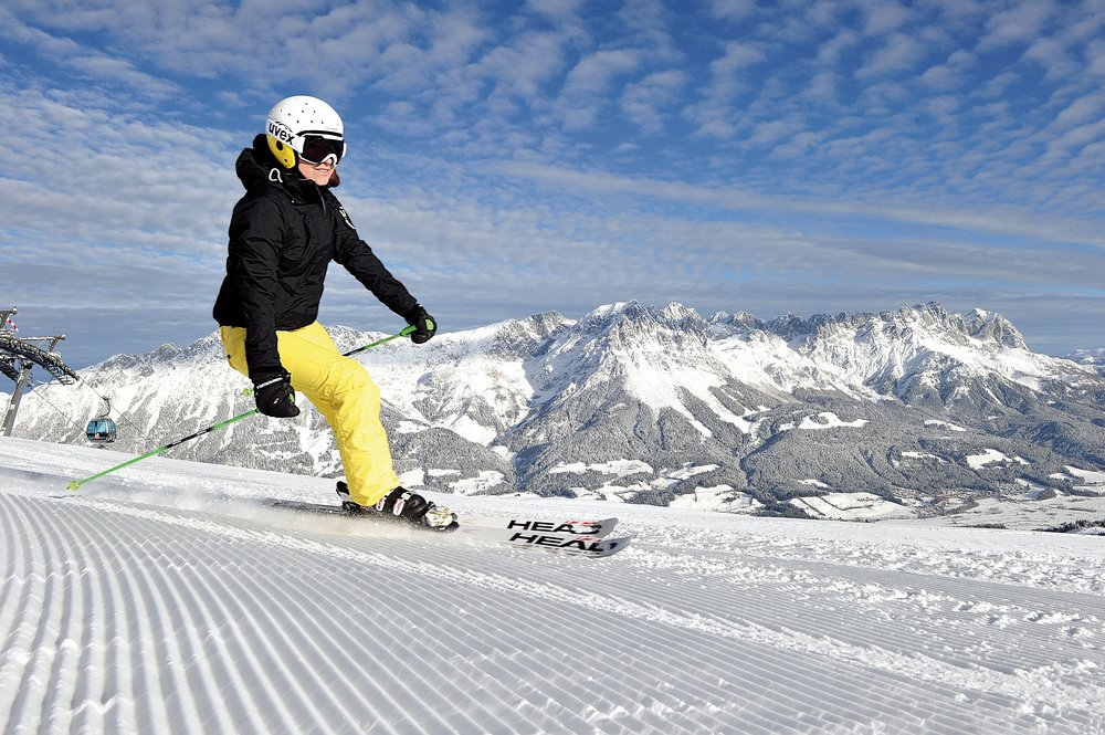 Skiwelt Wilder Kaiser Brixental is Austria's largest lift-linked ski area - © Skiwelt Wilder Kaiser Brixental.