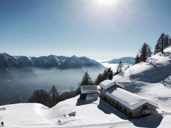 Giornata stupenda e neve perfetta!