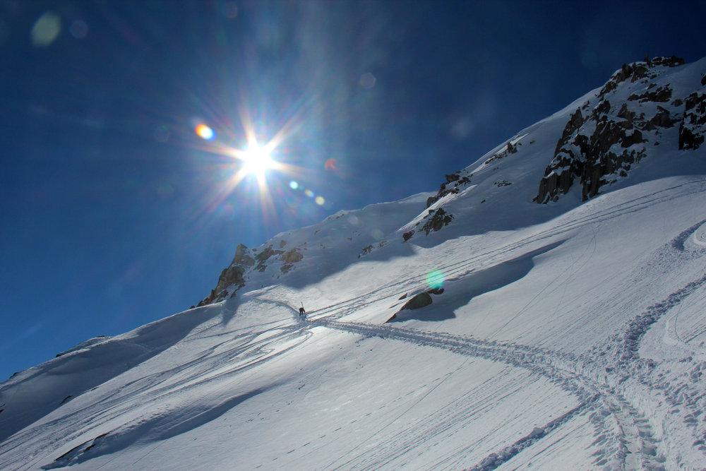 Auf Skitour in Disentis 3000 - © Skiinfo | J. Schächter