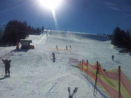 Schöne Abfahrten.  da macht Ski fahren Spaß!