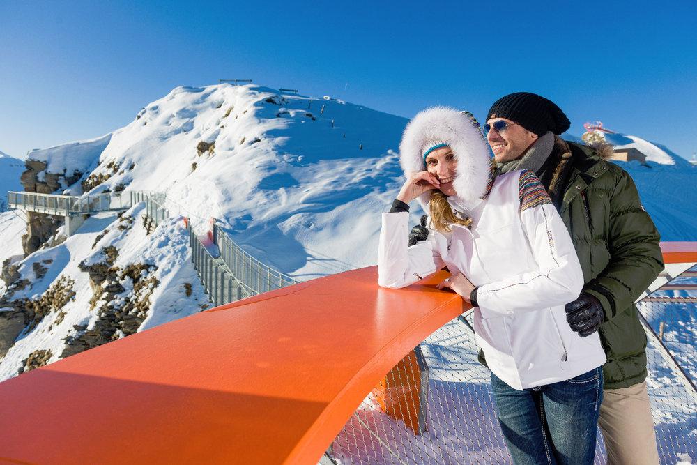 Nicht nur Familien, auch Pärchen werden hier glücklich - © Bergbahnen Gastein AG