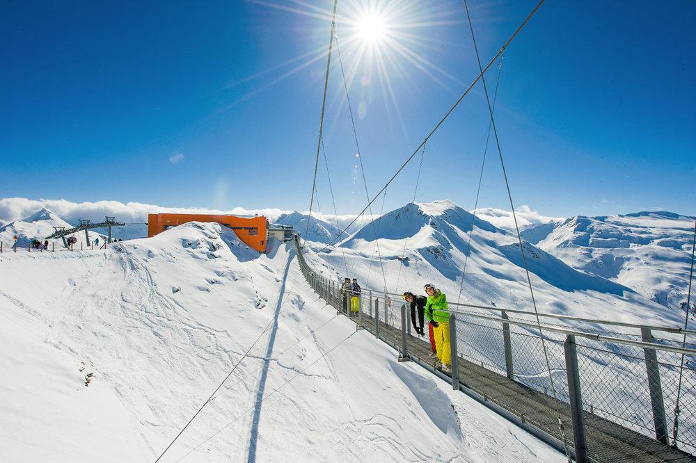 Wunderschöne Berge und strahlende Sonne - © Bergbahnen Gastein AG