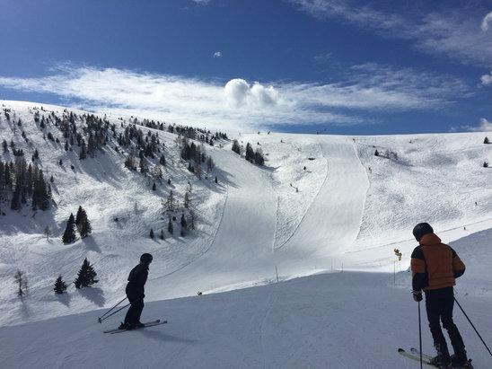 Passo Brocon-Marande (Funivie Lagorai) - [! skireport_firsthandpost_pagetitle ] - © iPhone di Caste