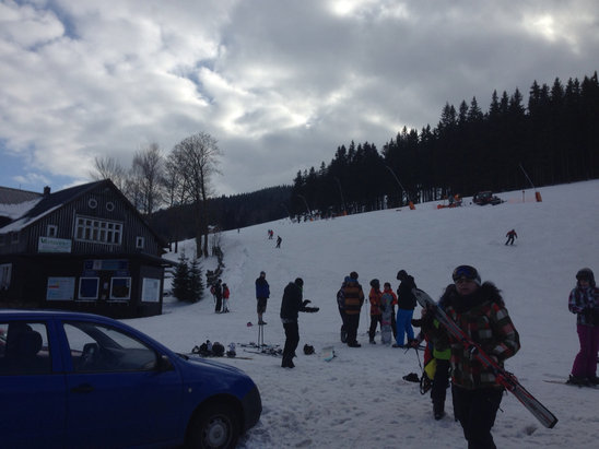 Harrachov - [! skireport_firsthandpost_pagetitle ] - © iPhone