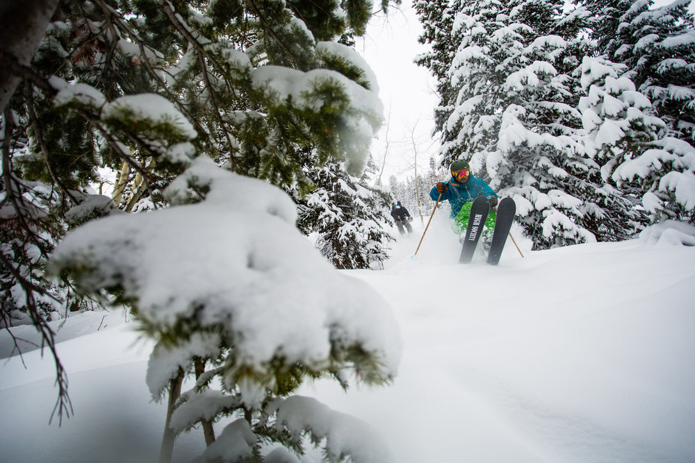 Aspen Snowmass saw well over a foot of new accumulation. - © Jeremy Swanson / Aspen Snowmass