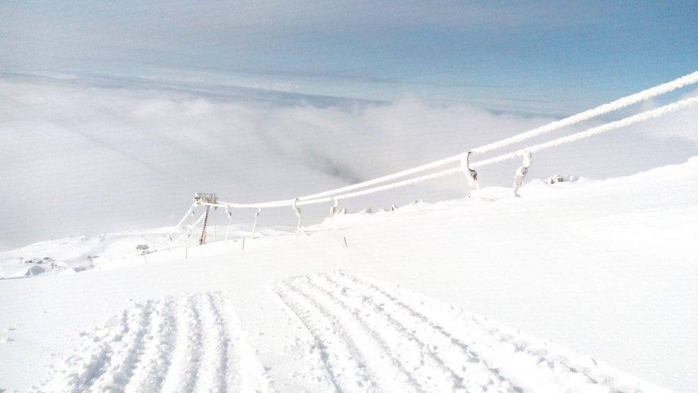 Funivie dell'Etna - 23 Febbraio 2015 - © Funivie dell'Etna Facebook