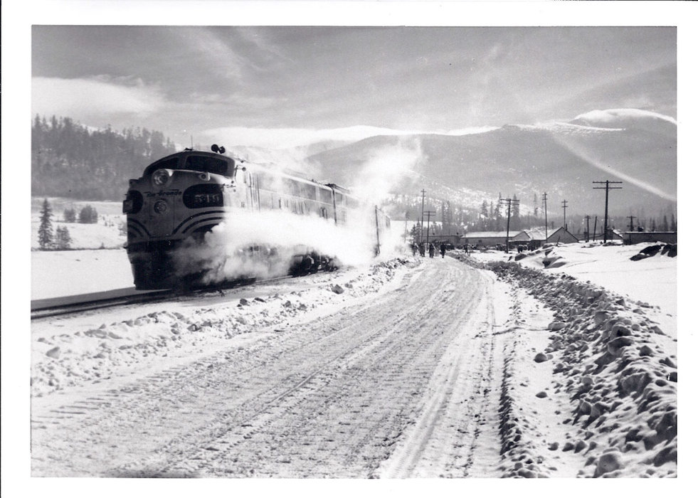 The Ski Train stopped at Winter Park in the 1950s. - © Winter Park