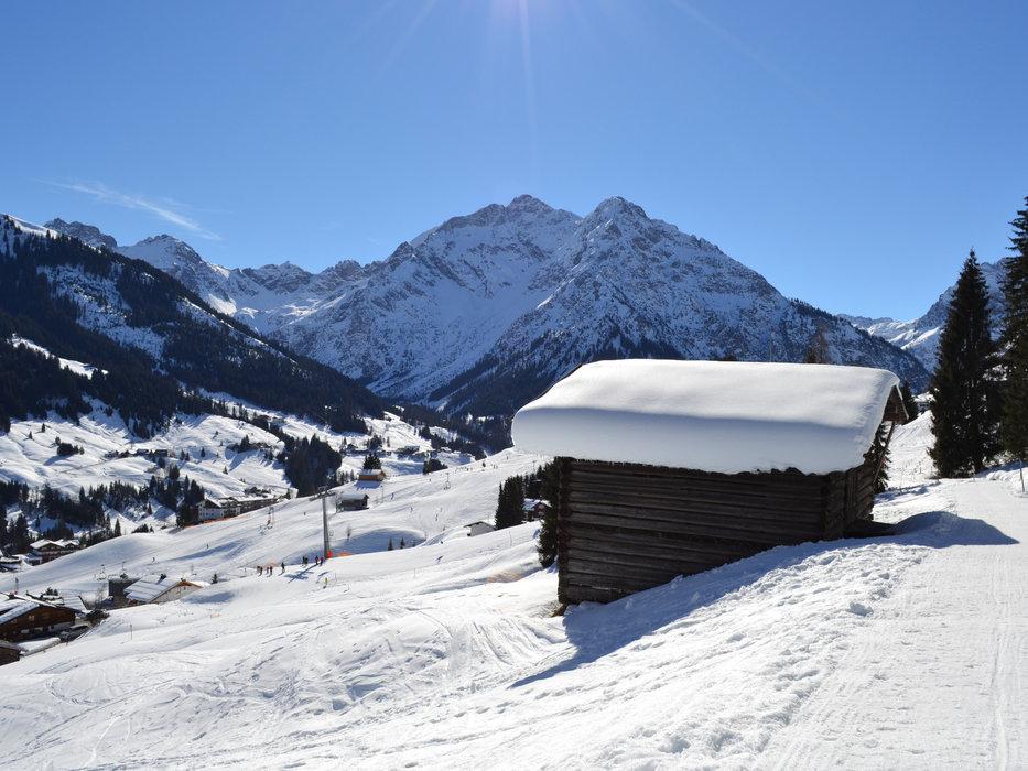 Talskigebiet Kleinwalsertal - © Kleinwalsertal Tourismus