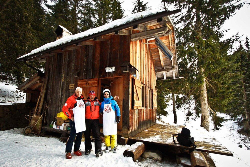 Baite aperte sulle Dolomiti