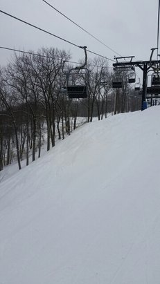 Jack Frost - It's snow! Great groomers and some glades are open!  Get here while it lasts!  - © gcolli3