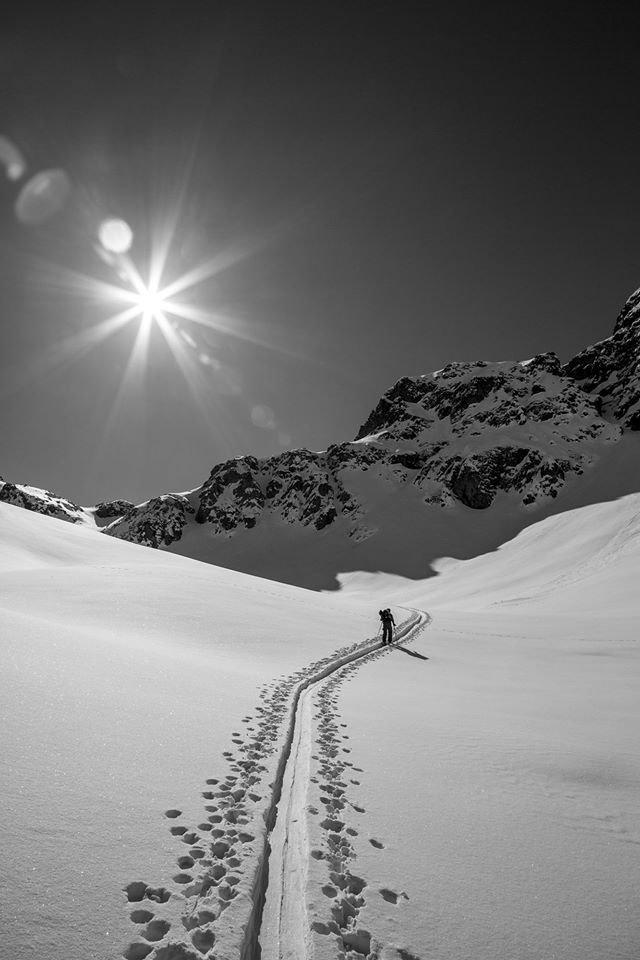 Na skitour v lyžiarskom regióne Silvretta Montafon