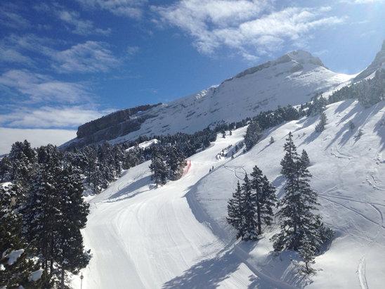 Villard de Lans - [! skireport_firsthandpost_pagetitle ] - © iPhone Stephane