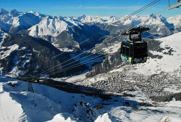 Beautiful views in Verbier, Switzerland - © Skigebiet Verbier