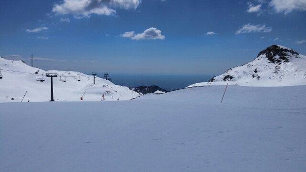 Piancavallo - Piste buone fino alle 13 poi alcuni tratti erano proprio brutti. Tutto sommato buone condizioni.  - © caimano80