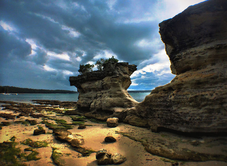 Dramatische Aufnahme von der Jervis Bay, etwa 200km südlich von Sydney gelegen - © Florian Reuter   Julia Mohr