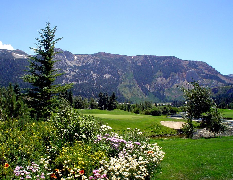 Golf course at Mammoth, CA