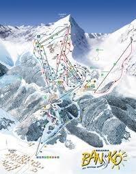 Altra Ski Map - © Pirinskiandgolf @ Skiinfo Lounge