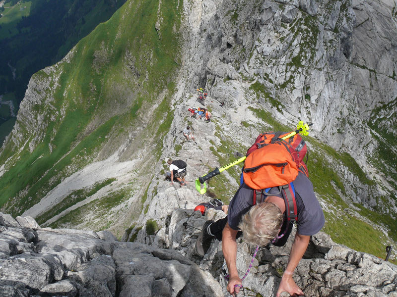 Hindelanger Klettersteig - © flickr_nikolay kuebler
