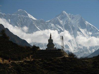 Lhotse und Mount Everest - © mckaysavage