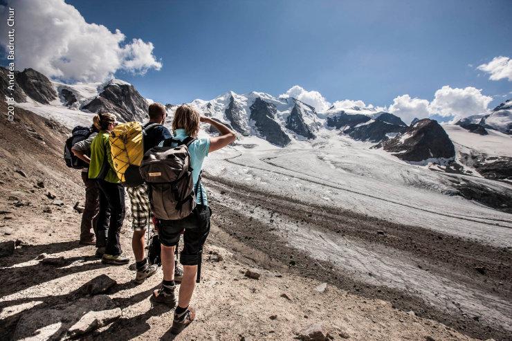 Wandern in Graubünden - © Andrea Badrutt, Chur