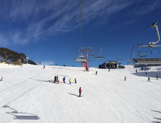 Mt. Buller - Great opening weekend weather   - © Peter's phone