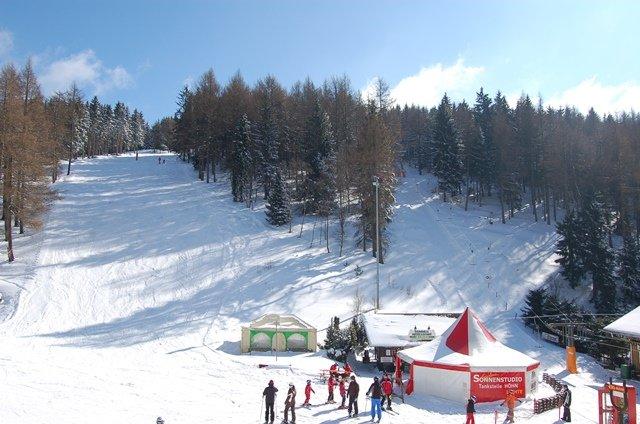 Skilift am Pappenheimer Berg - © Thüringer Wald