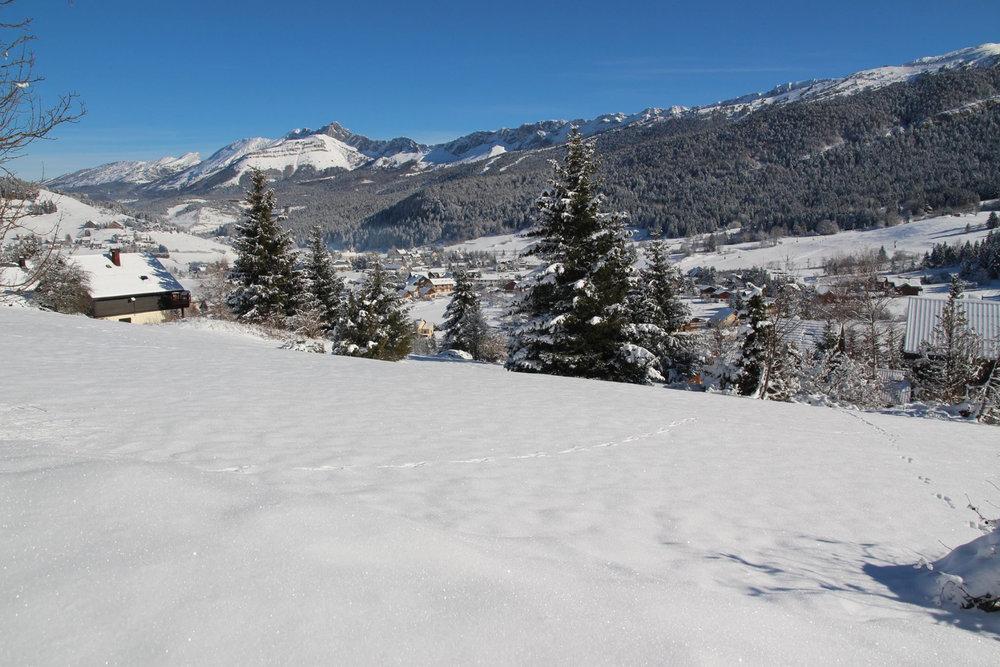 Ambiance hivernale sur Villard de Lans - © Office de Tourisme de Villard de Lans
