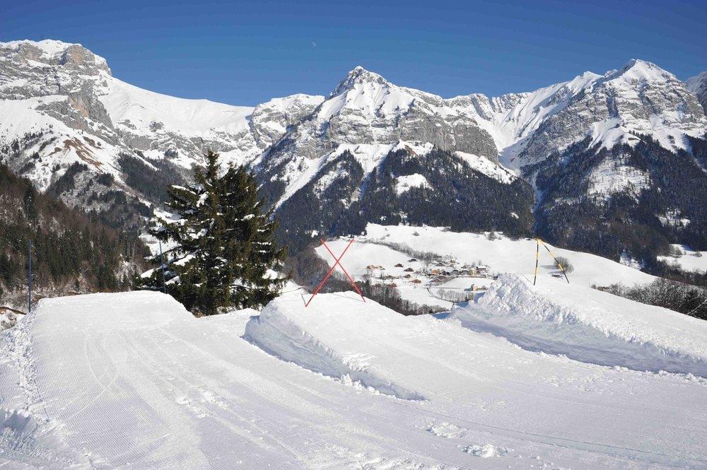 Les riders aussi trouve à Montmin-Col de la Forclaz un formidable terrain de jeu - © Station de Montmin-Col de la Forclaz