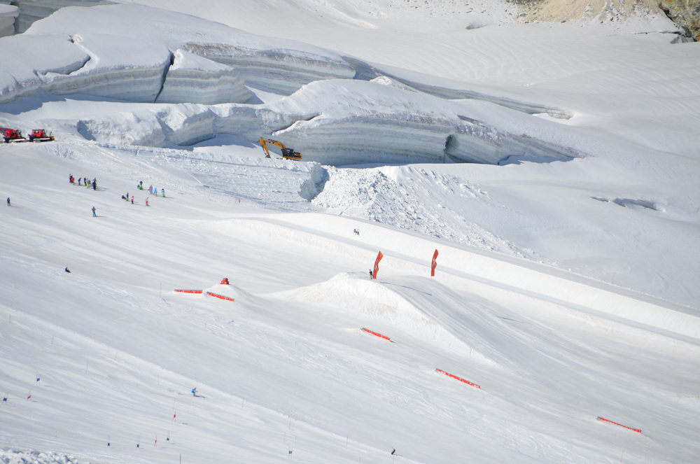 Sommer Freestyle Park in Saas-Fee - © Saastal Marketing AG