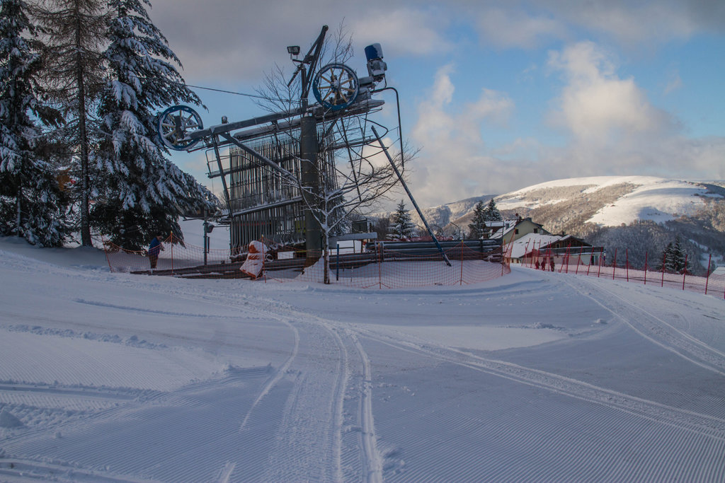 Le téléski du Golf sur le domaine skiable du Schnepfenried