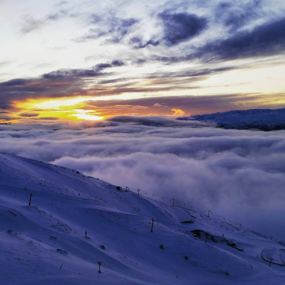 Nydelig utsikt i Cardrona i New Zealand. - © Facebook Cadrona Alpine Resort