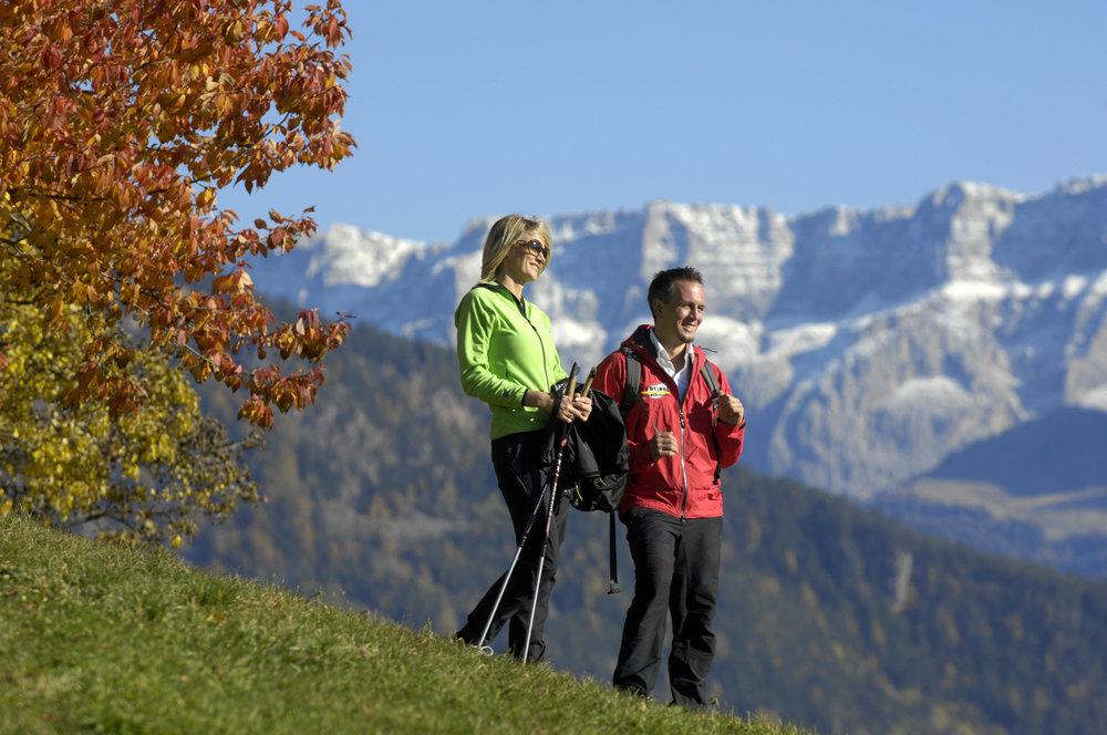 Herbstwanderung im Eisacktal - © TV Lajen | Helmut Rier