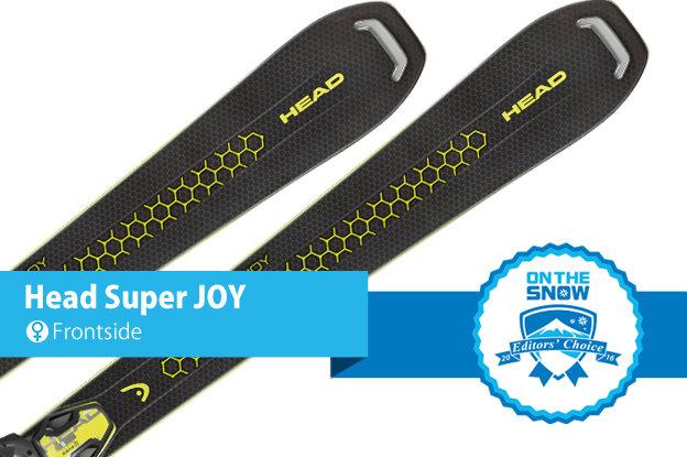 Head Super JOY: 2015/2016 Editors' Choice, Women's Frontside ski - © Head