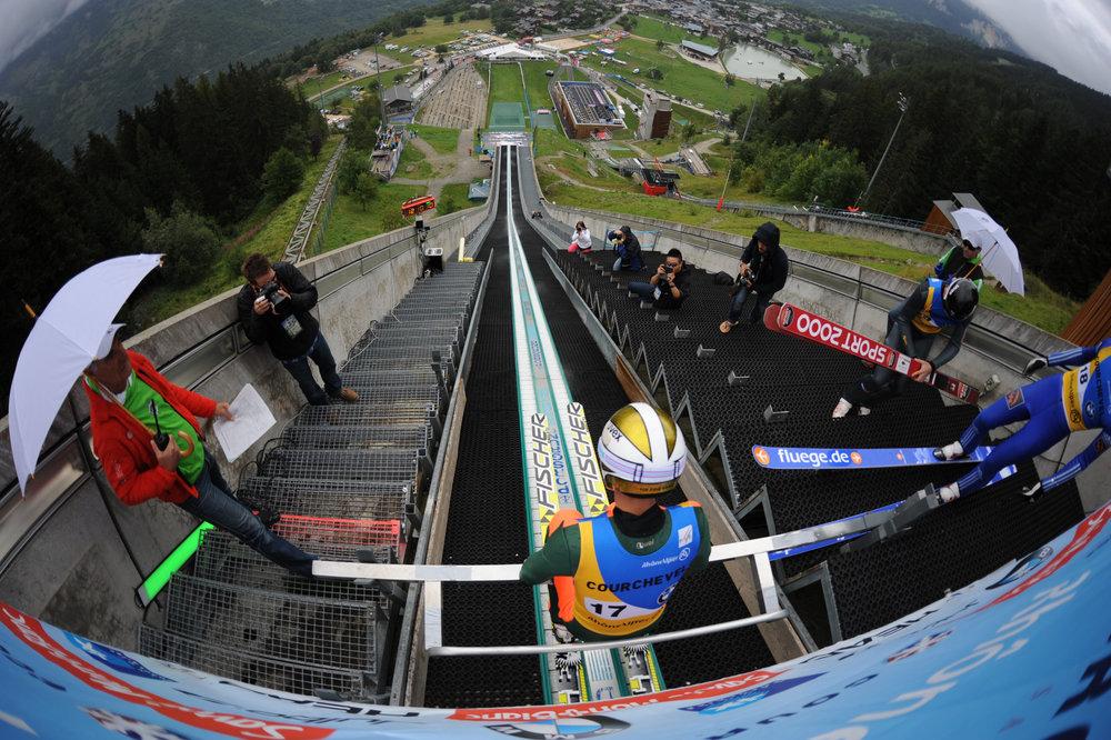 Courchevel accueille la coupe du monde de saut ski les 11 12 ao t - Coupe du monde de ski courchevel ...
