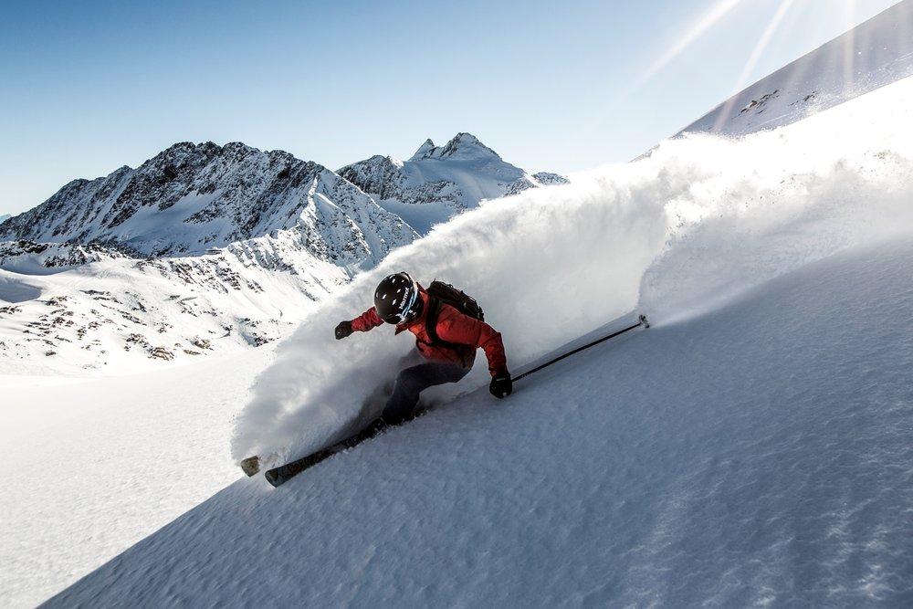 Freeride na lodowcu Stubai - © Stubaier Gletscher/Christoph Schoech
