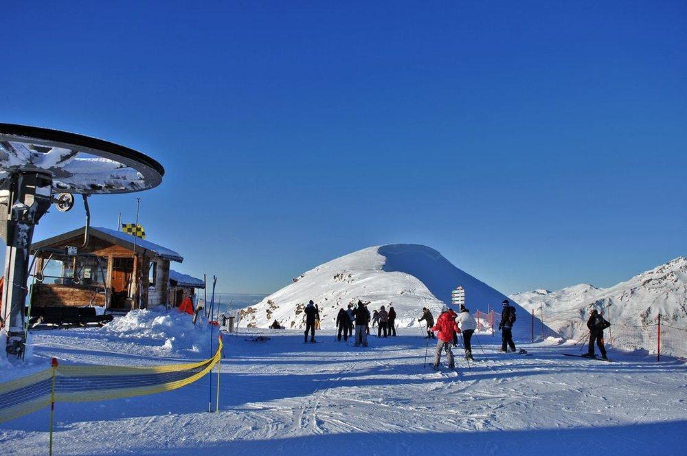 En route pour les pistes de ski de Valmeinier - © OT de Valmeinier