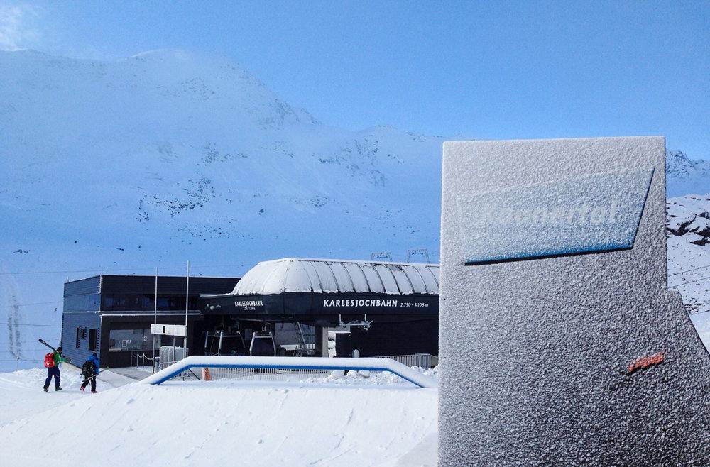 Zima w pełni na lodowcu Kaunertal - © Pitztaler Gletscherbahn GmbH&CoKG